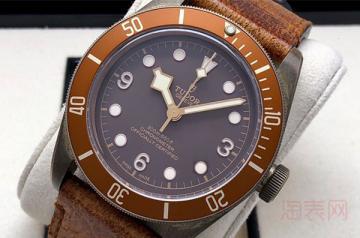 帝舵碧湾青铜手表回收价格怎么样