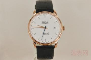 用了十年的美度手表回收价格高吗