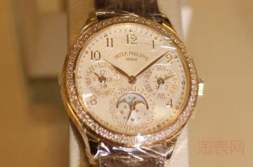镶钻的百达翡丽手表怎么回收