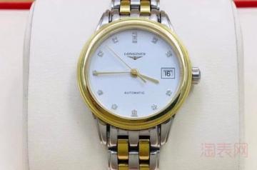 浪琴手表戴一个月能卖多少钱