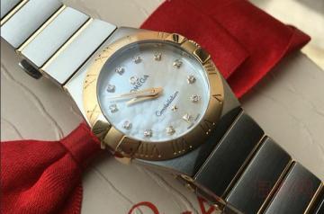 欧米茄女款手表回收值钱吗得看实物评估