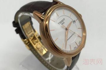 5000块买的天梭手表用了三年回收能卖多少钱
