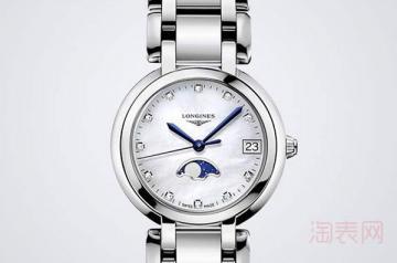 浪琴心月石英手表回收是多少钱