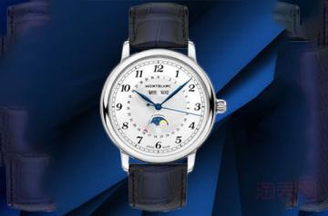 轻微使用的万宝龙手表卖二手能卖几折