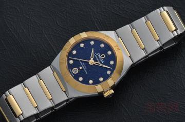 16年的老款欧米茄海马手表能够卖多少钱