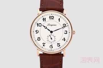 30000浪琴二手表能卖多少钱 越新卖的越好