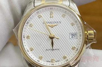 浪琴两万左右的手表回收价能上万吗