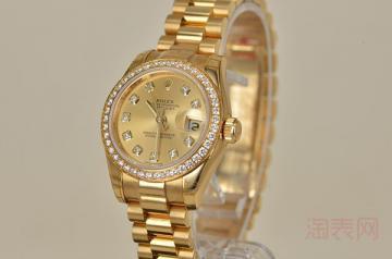 18k金劳力士旧手表回收价格是原价多少