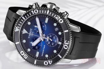 11年天梭手表回收价格是高是低看这些