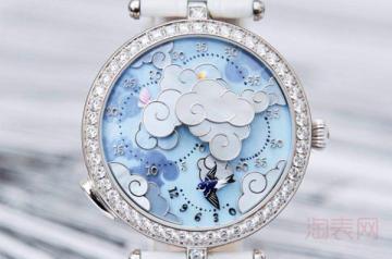 回收二手梵克雅宝手表多少钱