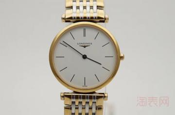 二手浪琴嘉岚手表回收价格在线分享