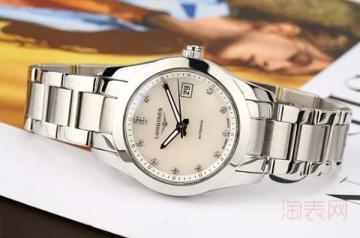 浪琴手表带钻可以回收到多少钱
