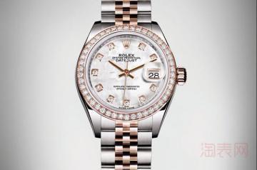 劳力士女士手表二手回收价格是多少