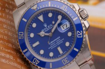 蓝水鬼劳力士水鬼回收手表报价依旧理想