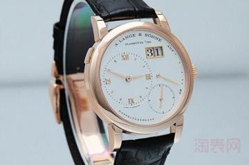 回收朗格手表多少钱算高价