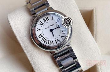 3w买来的卡地亚蓝气球手表回收能卖多少钱