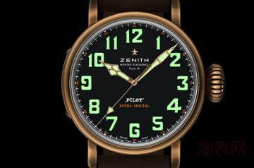 真力时青铜大飞手表回收价格是多少