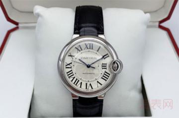 卡地亚旧手表回收价格一般是多少