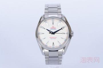 欧米茄海马手表回收大概可以卖多少钱