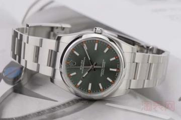 劳力士蚝式恒动114300手表回收是否受欢迎