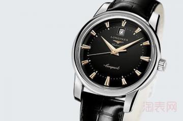 浪琴一万多的手表二手的回收多少钱看具体表款