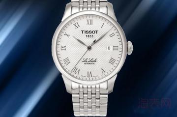 刚买的天梭手表回收还能卖多少钱