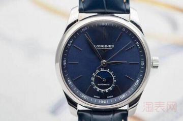 买了10年的浪琴手表多少钱回收避免被坑