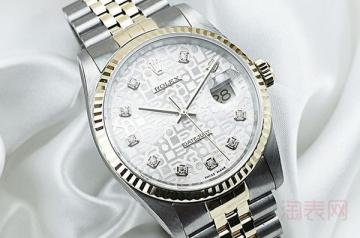 20年前的劳力士黑水鬼手表回收能卖多少钱