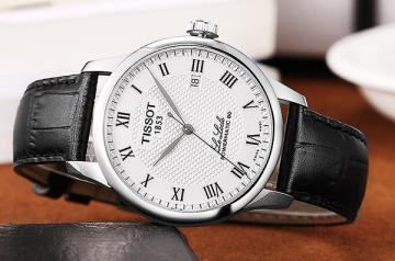 一个二手的天梭力洛克手表能卖多少钱