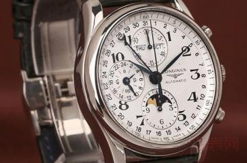 带了2个月的浪琴手表回收能卖多少钱