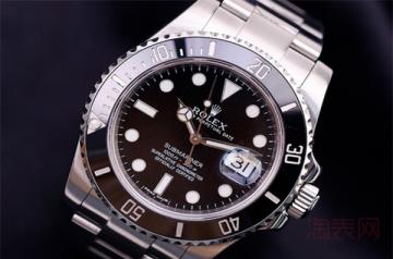 劳力士黑鬼手表回收价格怎么这么高