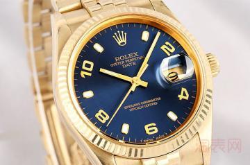 回收劳力士黄金手表价格表现如何