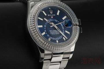 10万左右的劳力士手表二手回收能卖多少钱