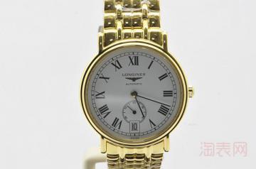 浪琴瑰丽手表二手回收可以卖多少钱