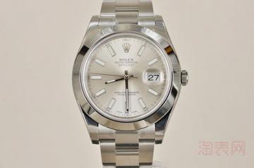 旧劳力士手表回收价格怎么样 一般几折
