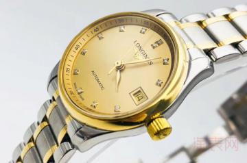 二手市场上浪琴老款手表回收多少钱