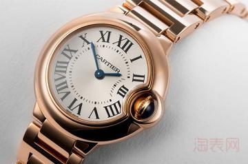价值八万多的卡地亚手表能卖多少钱