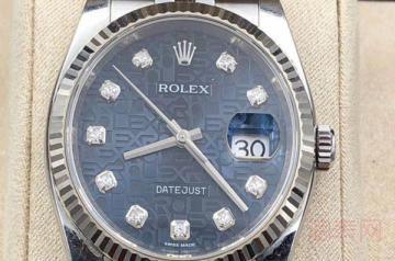 老款的劳力士钻石手表回收能值多少钱