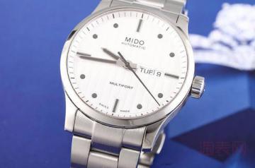 瑞士美度手表回收能值多少钱 需搞清楚算法