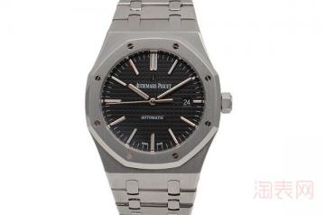 二手爱彼皇家橡树手表15400回收价格会有几折