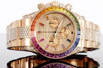 二手劳力士迪通拿彩虹圈手表保值率如何